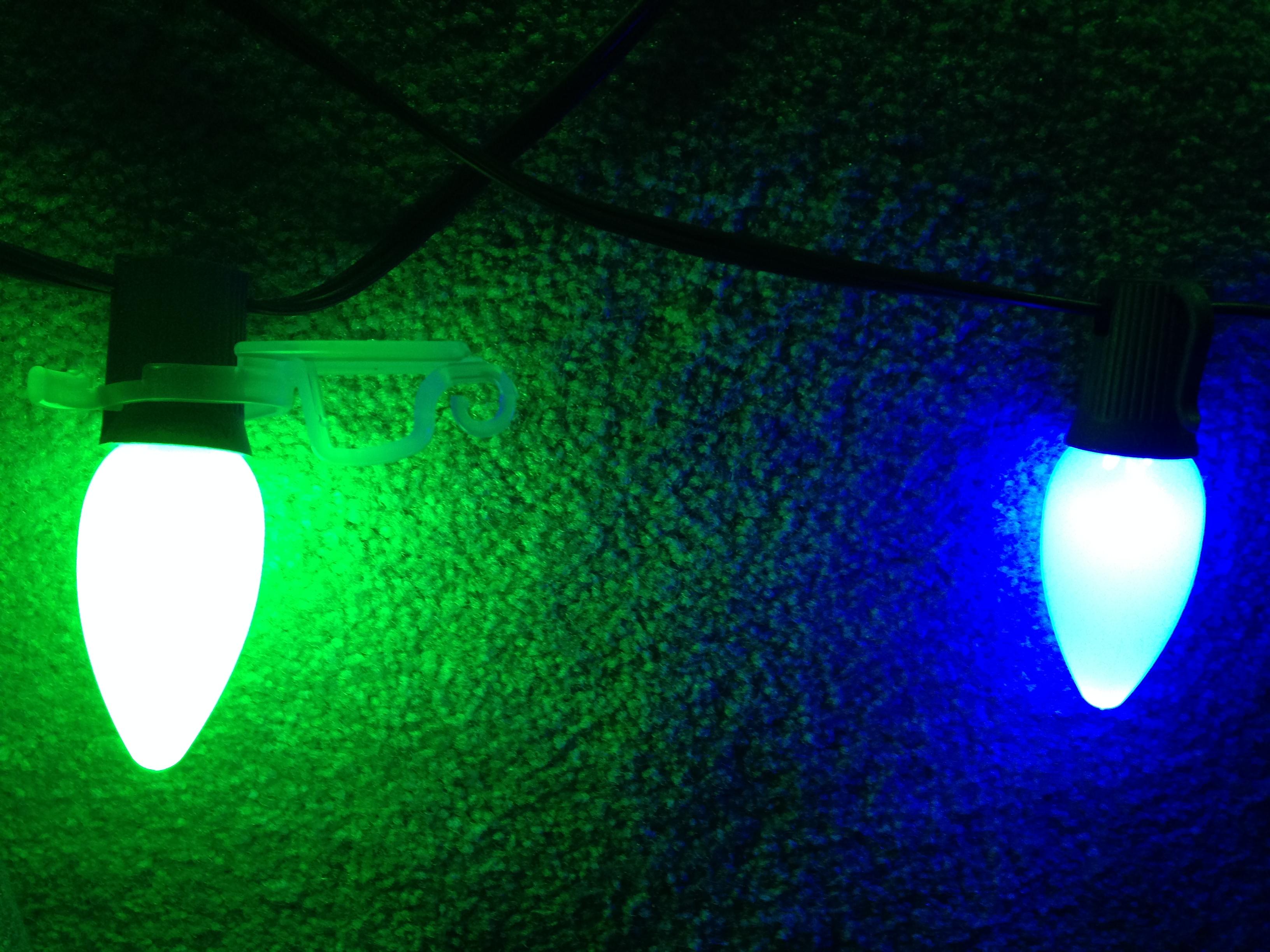 C7 Christmas Light Strings
