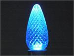 C9 SMD Faceted Style Blue